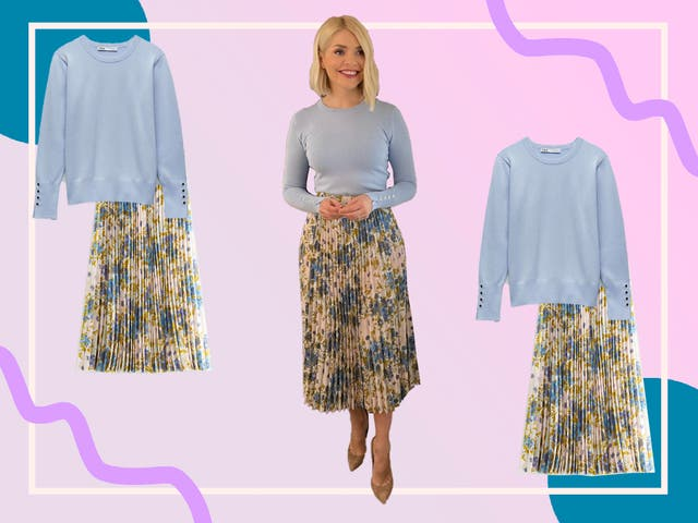 <p>You can buy Holly's outfit today for under £100</p>