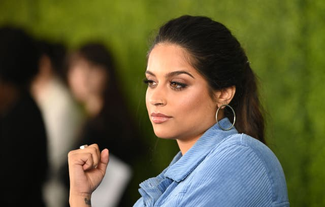 <p>File image: Lilly Singh arrives for WE Day California at the Forum in Inglewood, California on 25 April 2019</p>