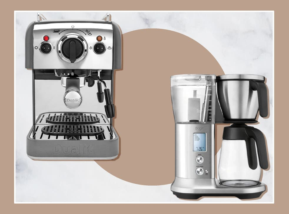 <p>The amount of coffee your household drinks, space available, and how you plan to grind your coffee are points to consider when shopping for a machine</p>