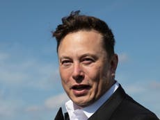Elon Musk net worth: Visualising the Tesla and SpaceX boss' wealth in four charts