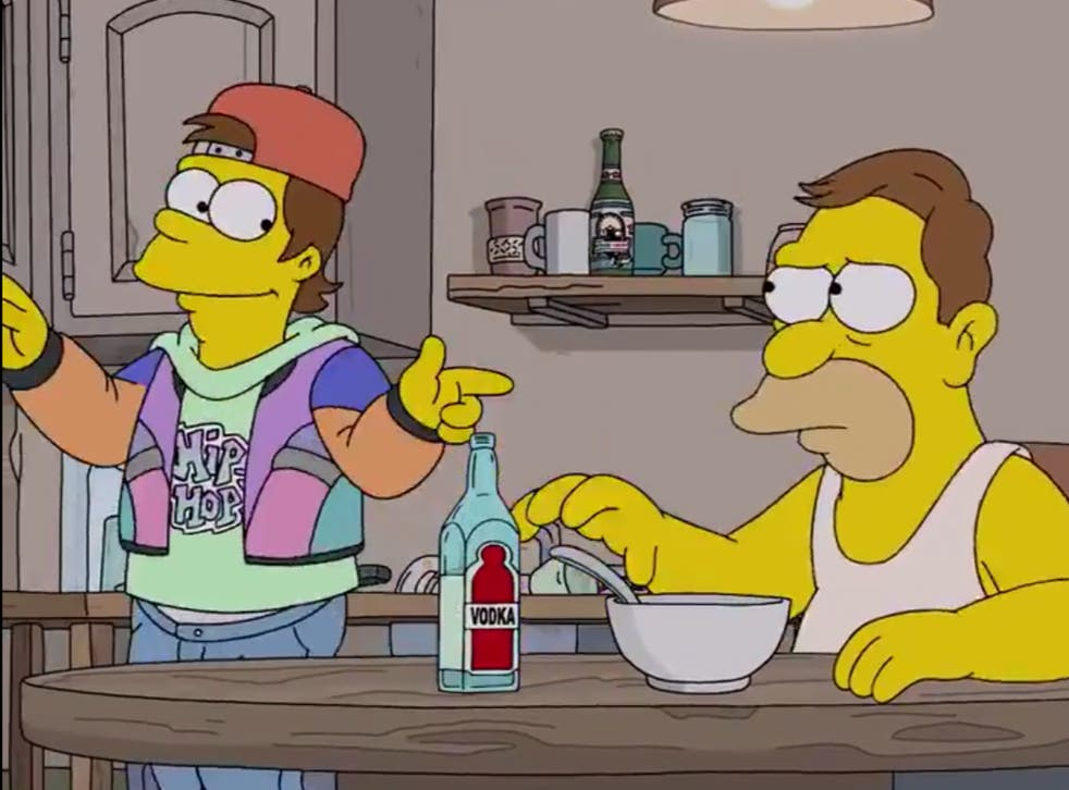 Simpsons Fans Up In Arms After New Episode Casts Homer As A Teenager In The 90s Indy100