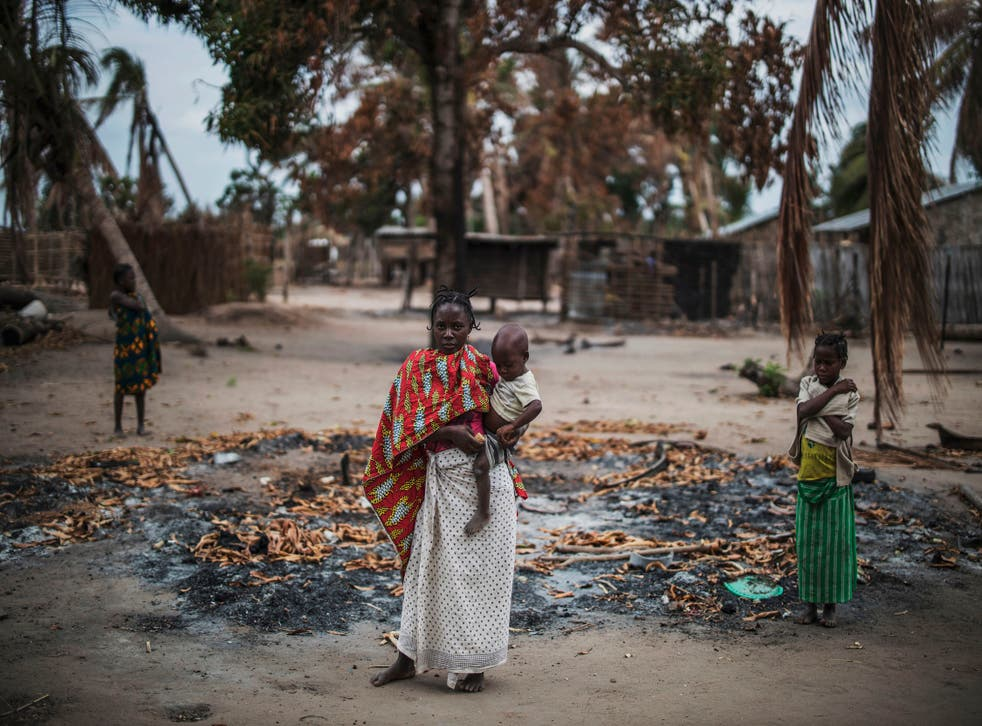 <p>Nearly 700,000 people have abandoned their homes since the insurgency began in 2017</p>