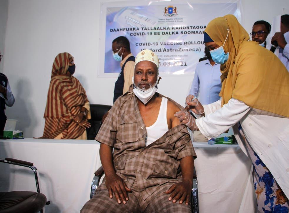 Virus Outbreak Africa Vaccines Somalia