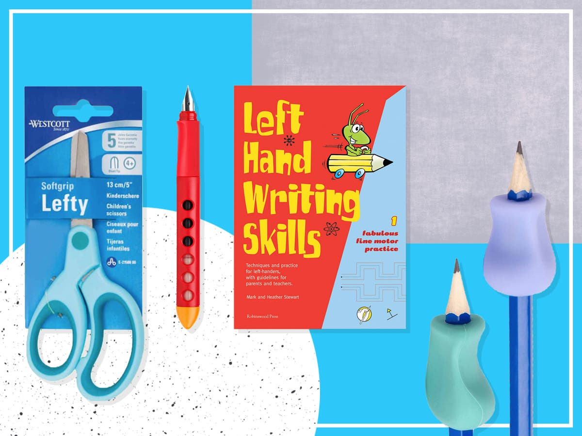 Best stationery for left-handed kids to make life a little bit easier