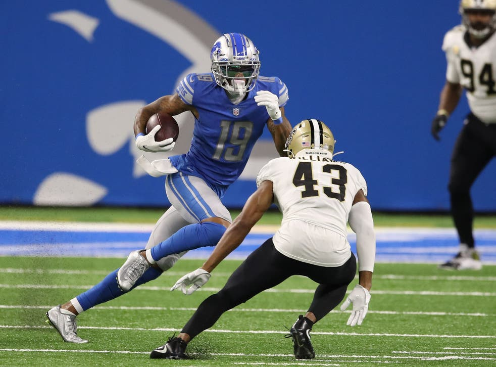 <p>Kenny Golladay is the best WR on the market this off-season</p>
