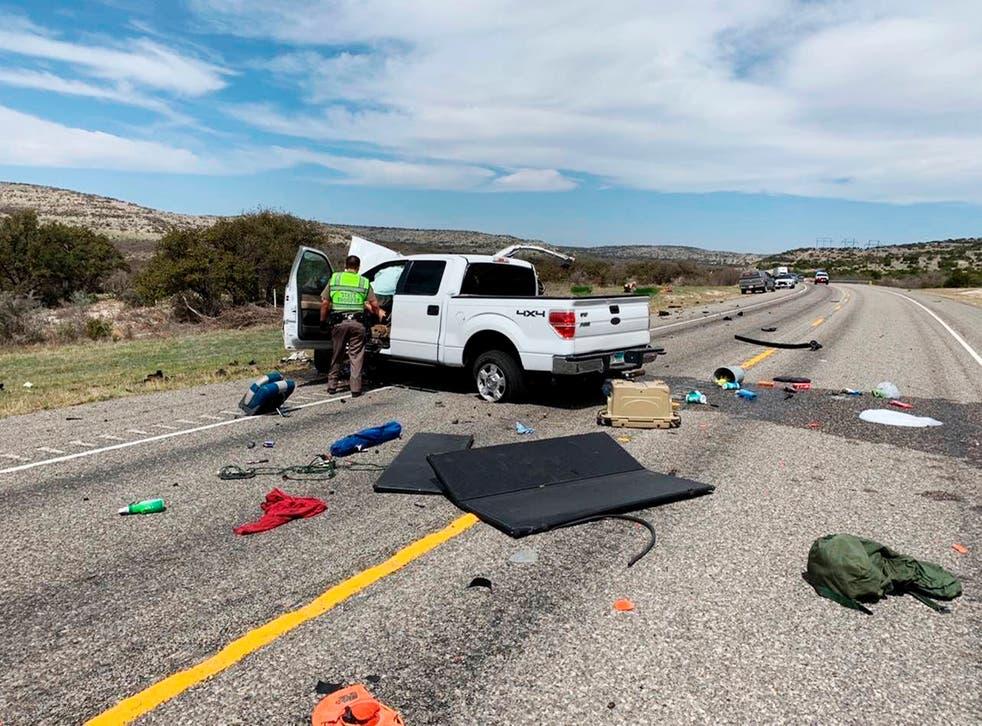 Texas Highway Crash