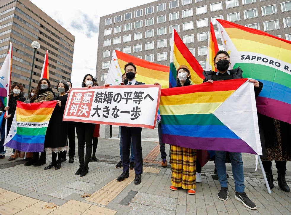 Japan Same Sex Marriage Ruling