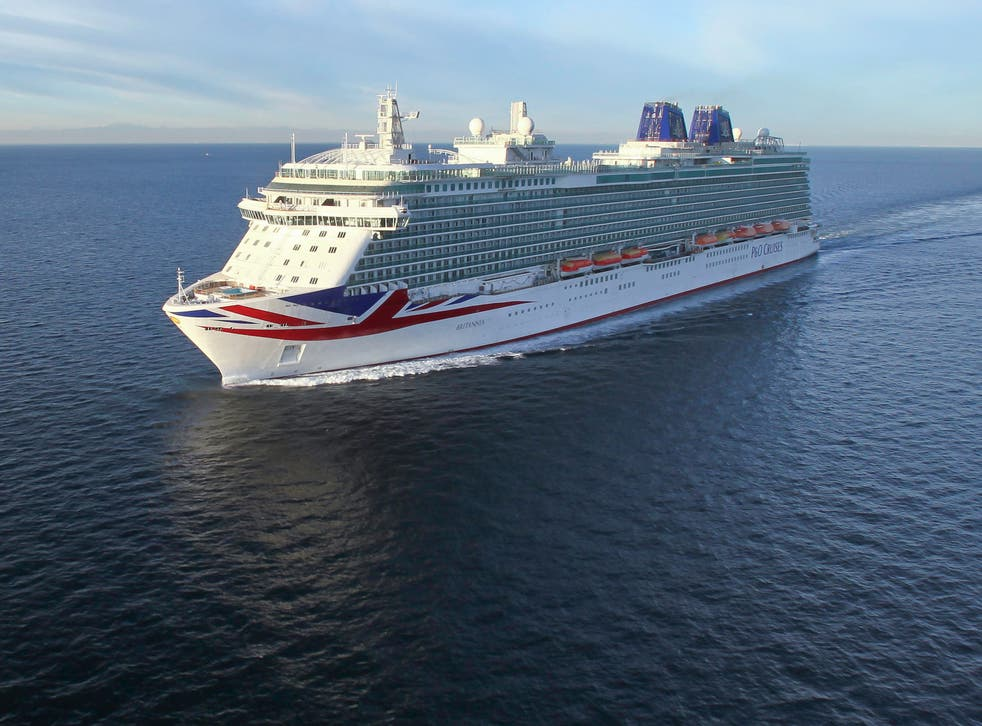 <p>P&O Cruises will take passengers on 'voyages to nowhere' around the UK this summer</p>