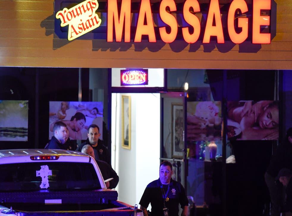 CORRECTION Massage Parlor Shooting