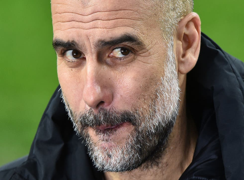 Pep Guardiola is cautious despite City's dominance in Europe