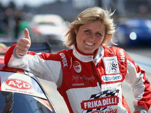 <p>Schmitz was a pioneer for women in motor sport</p>