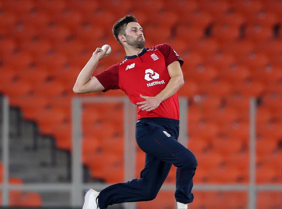 England bowler Mark Wood