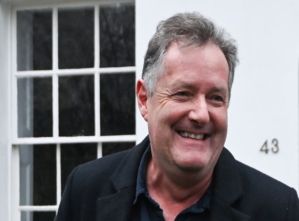 <p>Piers Morgan has taken all his belongings out of the GMB production offices</p>