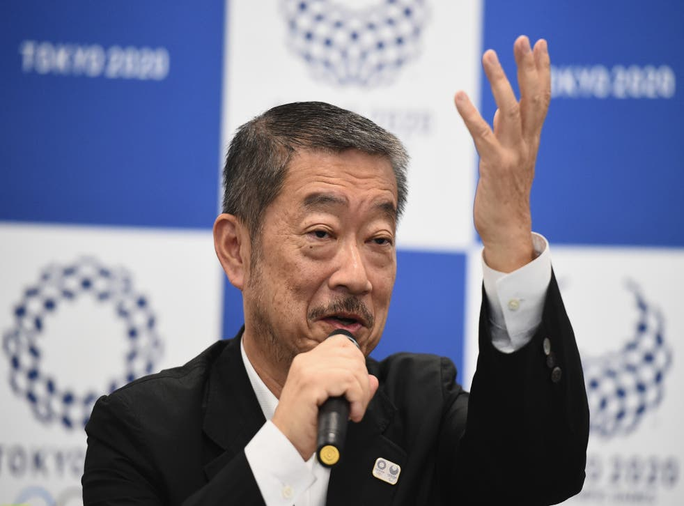 <p>Hiroshi Sasaki speaks at a press conference for opening and closing ceremonies of Tokyo Olympics on 31 July, 2018 in Tokyo</p>