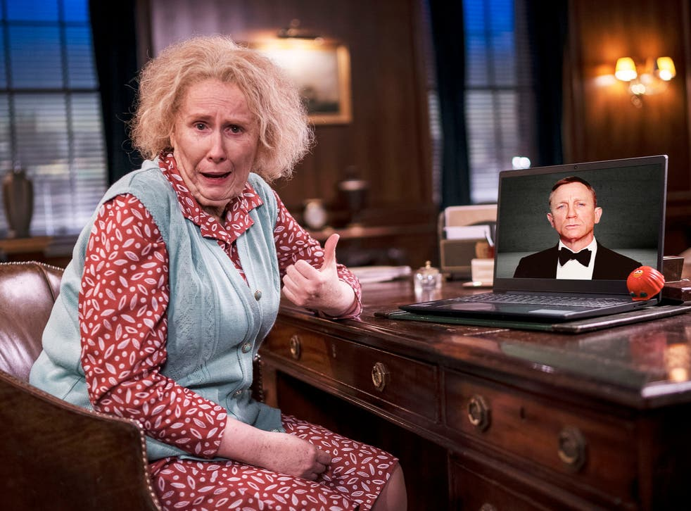 A promotional image for the sketch starring Catherine Tate and Daniel Craig
