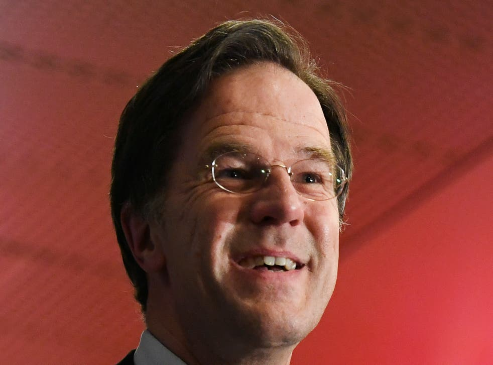 <p>Voting in the The Netherlands was held over three days due to the coronavirus pandemic</p>