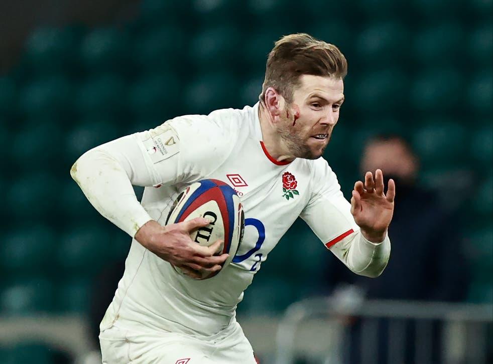England back Elliot Daly