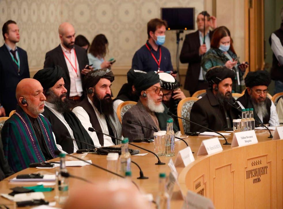 Russia Afghanistan Peace Talks