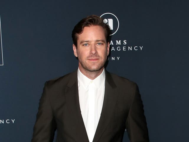 Armie Hammer at an event on 16 November 2019 in Los Angeles, California