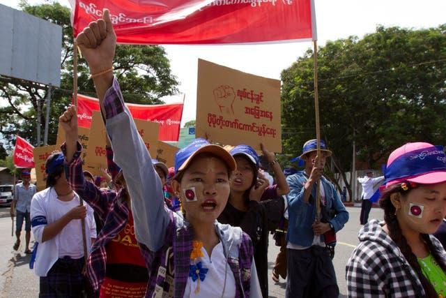 US Myanmar Apparel Sourcing