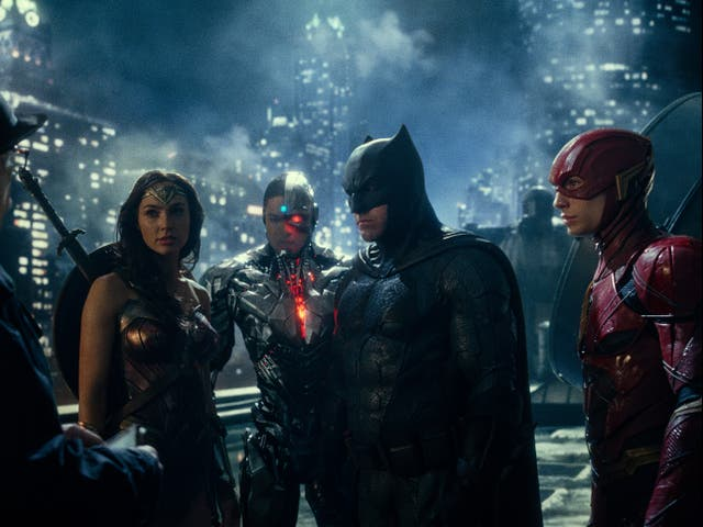 A still from Zack Snyder's Justice League