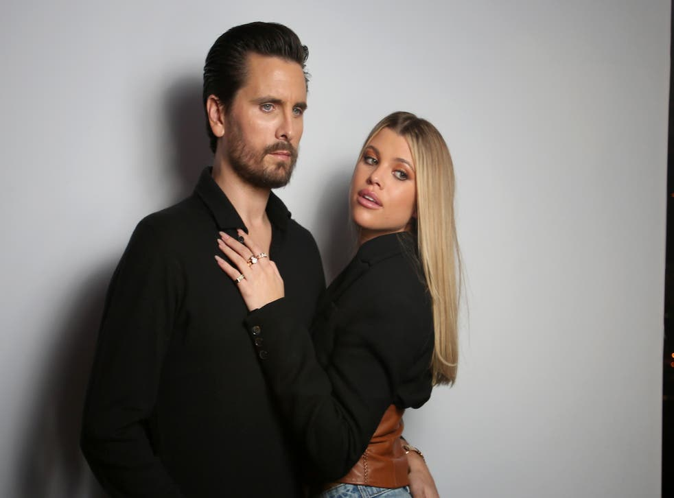 <p>Scott Disick and Sofia Richie before the pandemic.</p>