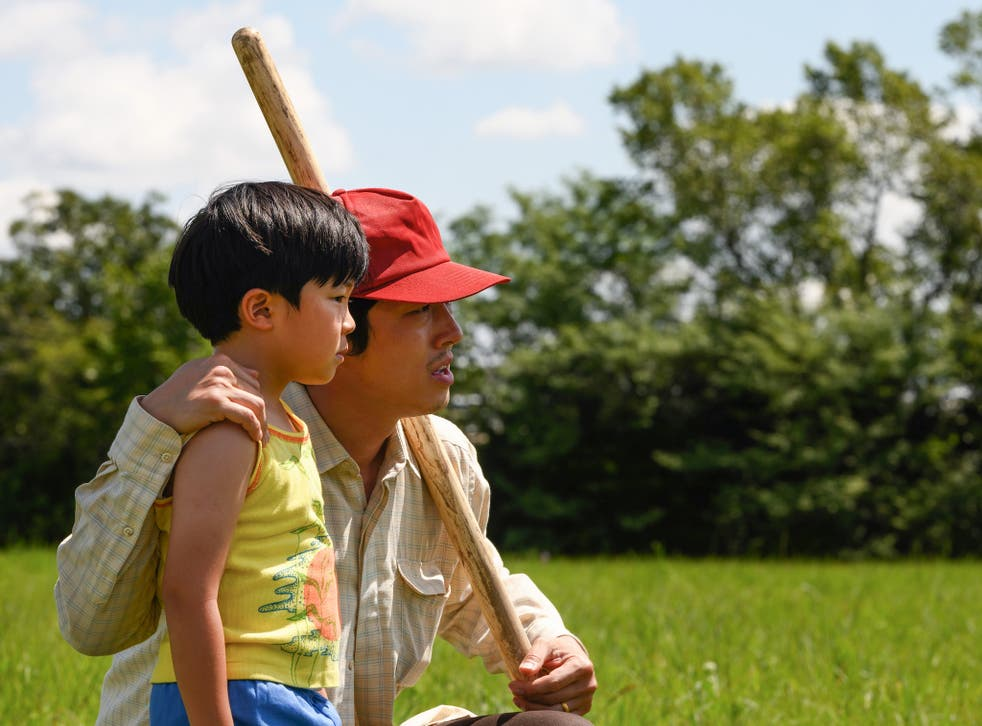 <p>Alan S Kim and Steven Yeun star in this tender-hearted film</p>