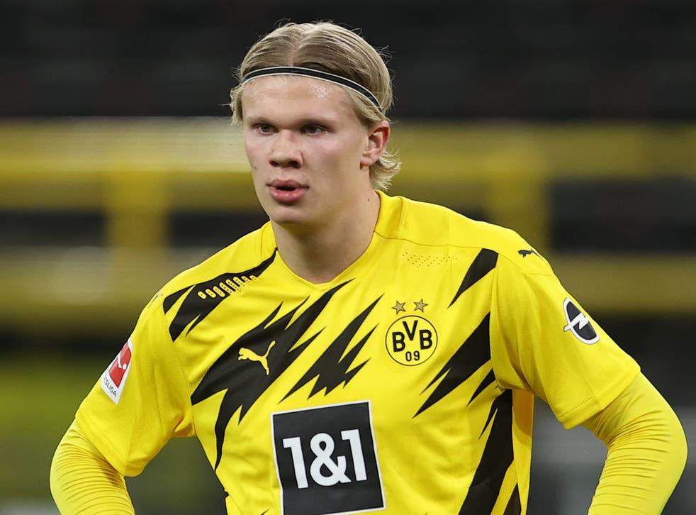 Dortmund striker Erling Haaland