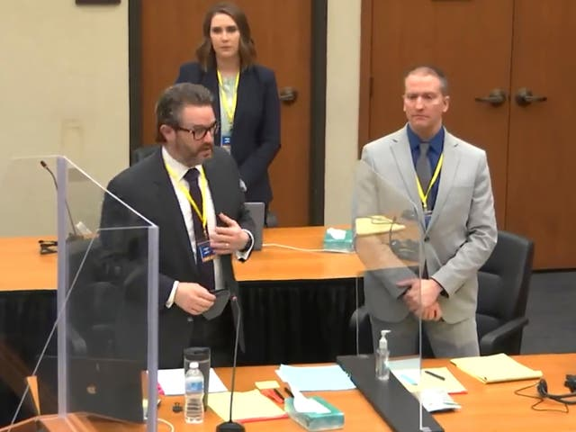 <p>El abogado defensor Eric Nelson utilizó una de sus huelgas perentorias.</p>