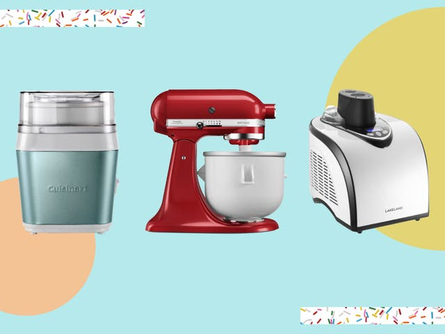 There are two types of machines: fully automatic, which come with an inbuilt freezer, and manual which require you to pre-frezeze the bowl first