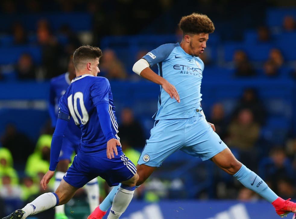 Former Manchester City youngster Jadon Sancho