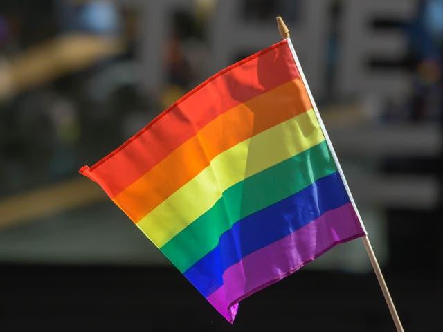 <p>La bandera del orgullo</p>