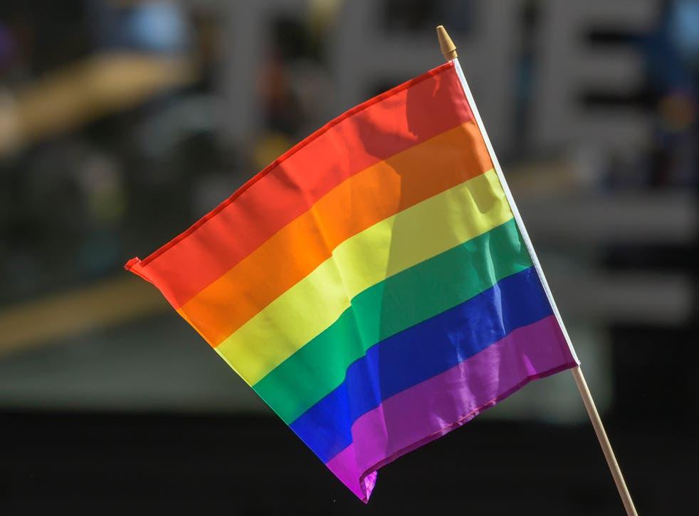 La bandera del orgullo