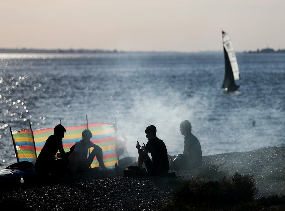 <p>Barbecues could be banned on Brighton's beaches</p>