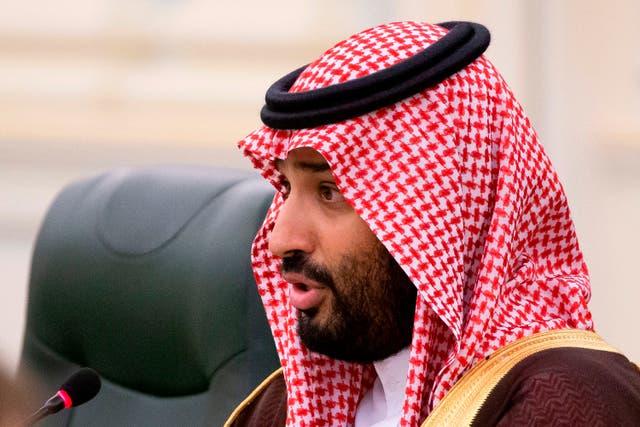 <p>El príncipe heredero siempre ha negado su participación en el asesinato de un periodista disidente.</p>