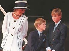 """El príncipe Harry revela que la muerte de la princesa Diana le """"dejó un gran agujero"""" en su interior"""
