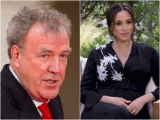 """Jeremy Clarkson llama a Meghan Markle """"pequeña actriz tonta de televisión por cable"""" en defensa de Piers Morgan"""