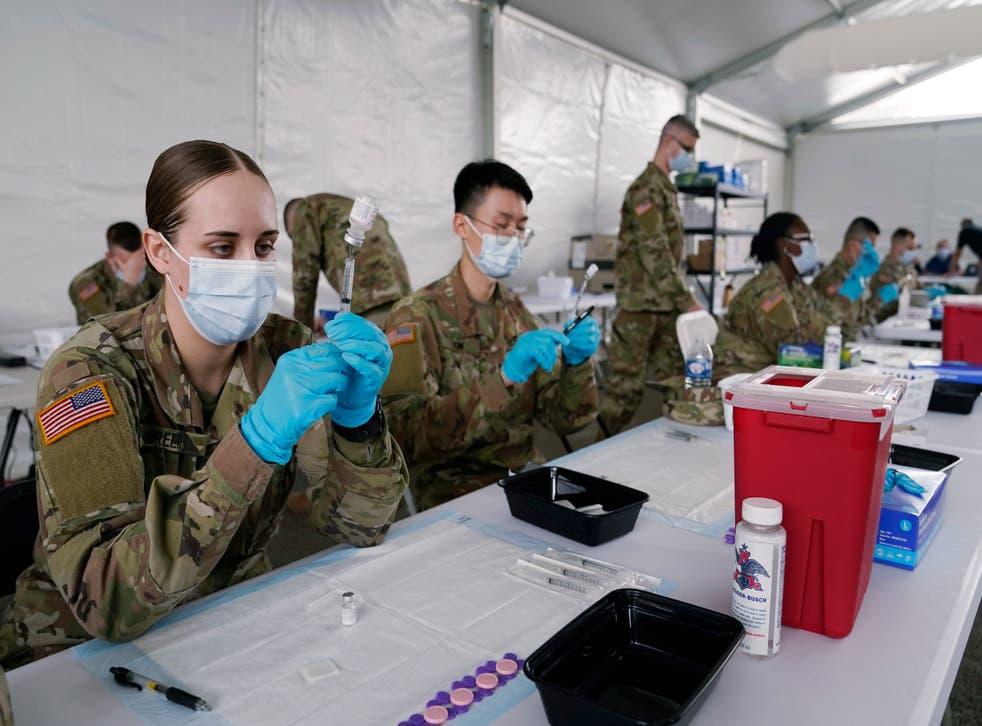 Virus Outbreak Vaccine Rollout