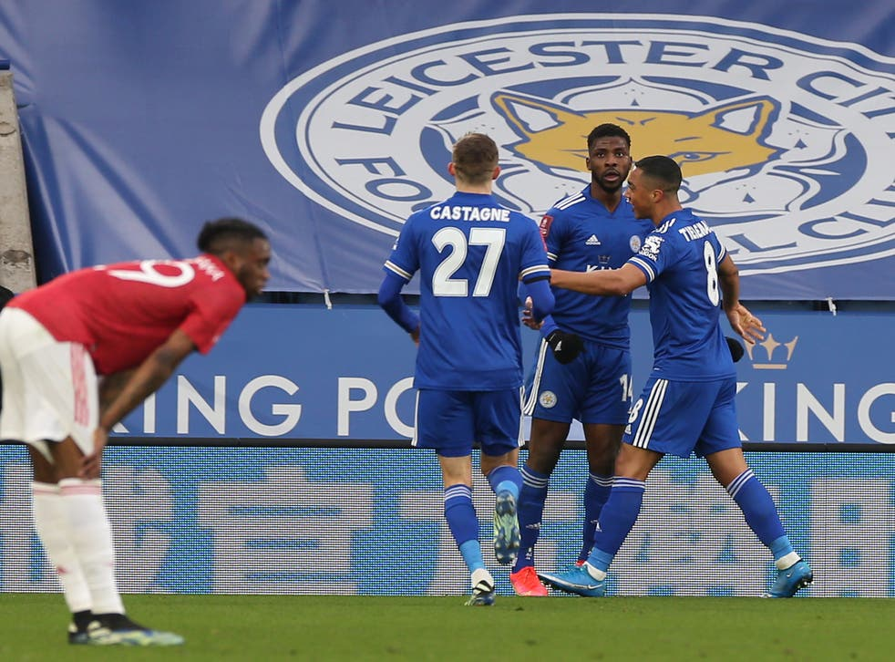 <p>Iheanacho's brace sent Leicester to the semi-finals</p>