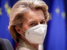 """Vacunas contra COVID-19: La UE """"está lista para bloquear las exportaciones de AstraZeneca al Reino Unido"""""""