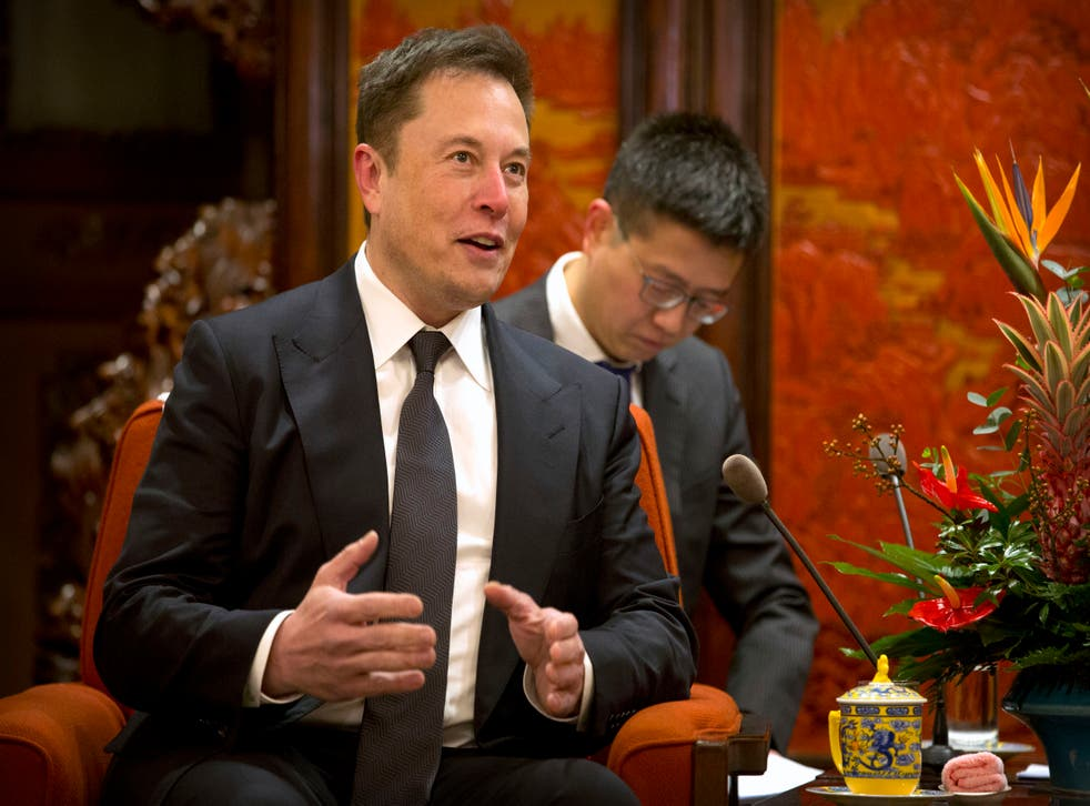 <p>Elon Musk is the second richest person in the United States</p>