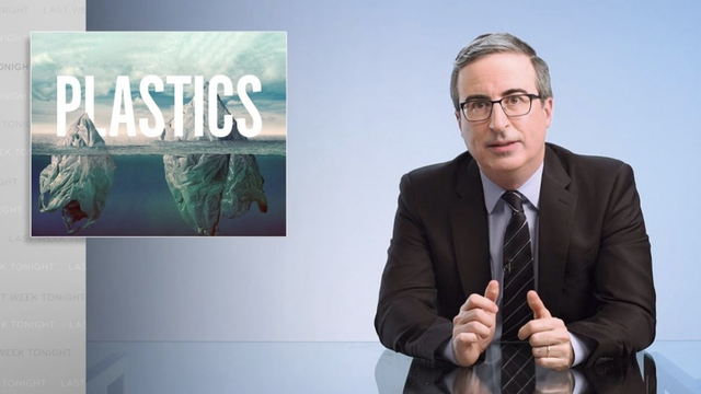 John Oliver took on plastic recycling on this week's episode of Last Week Tonight