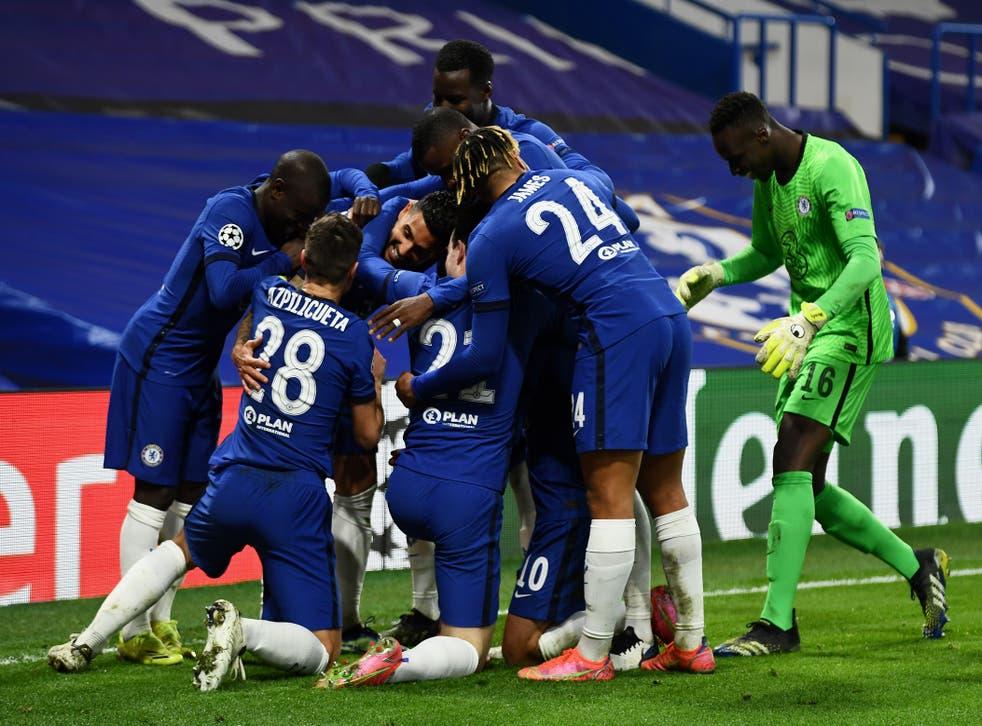 Chelsea land Porto in easy Champions League quarter-final ...  |Porto- Chelsea