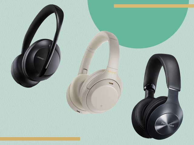 <p>Wireless headphones are less intrusive – and usually have better battery life – than the in-ear version</p>