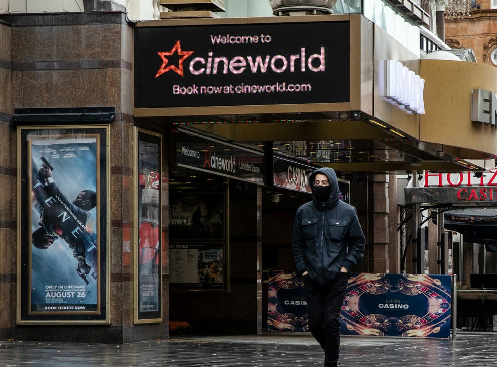 <p>Cineworld's Leicster Square outlet has been shuttered for months </p>