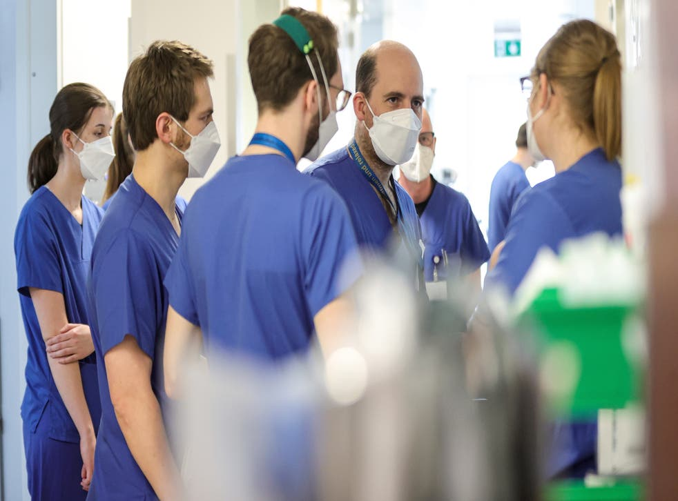 <p>NHS staff are being expected to work extra hours unpaid</p>