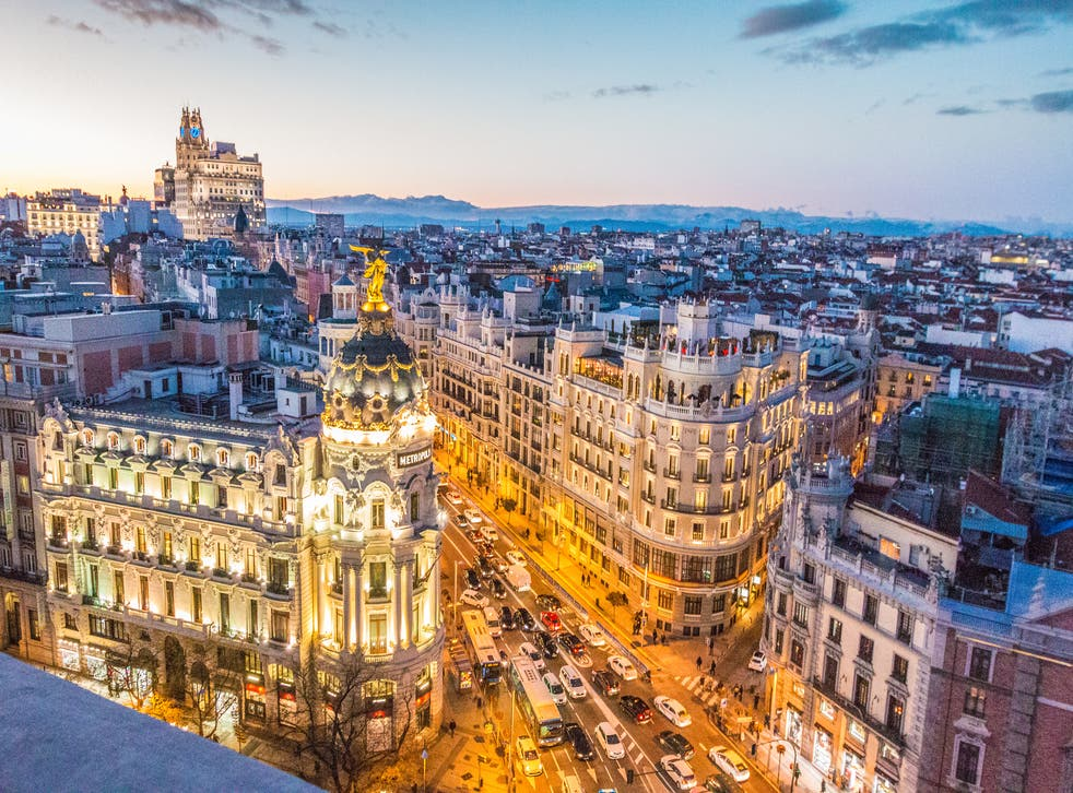 <p>Madrid is opening back up to Brits</p>