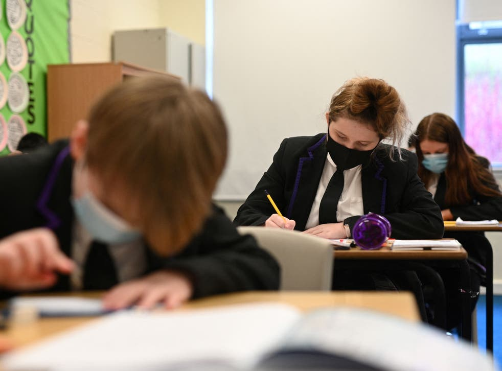 More than 90 per cent of state school pupils were onsite last week, government data shows