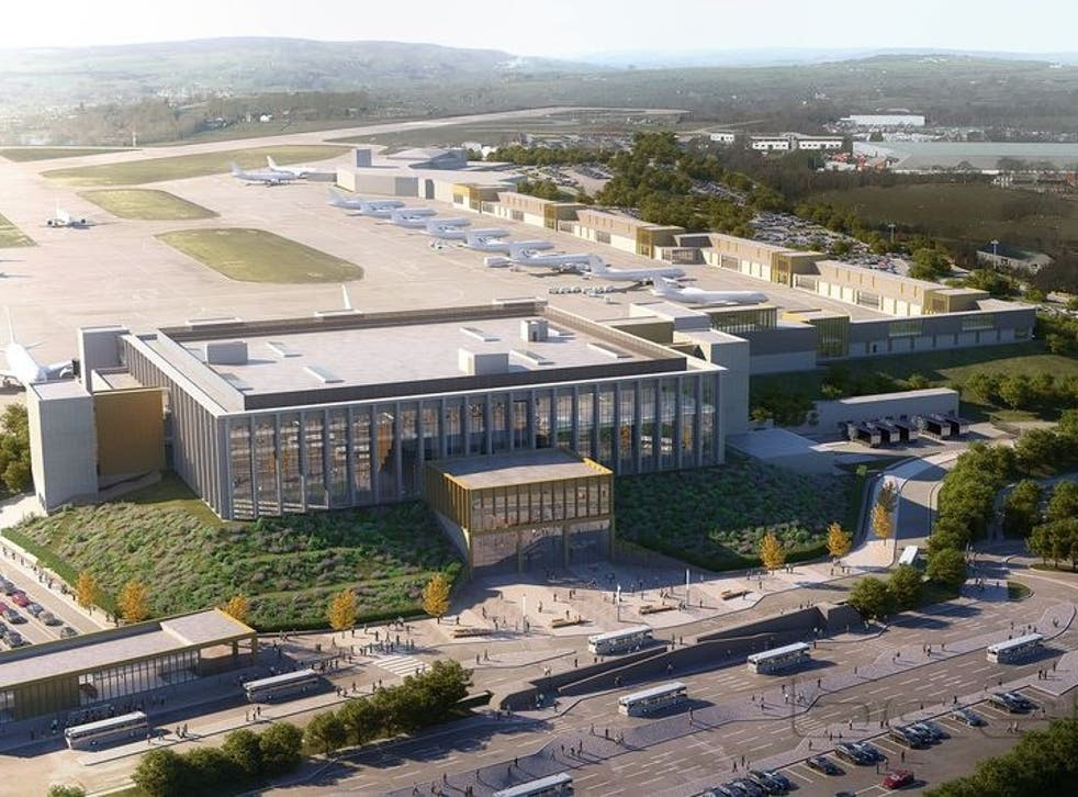 Leeds Bradford Airport Climate Campaigners Pile Pressure On Government To Block Major Expansion The Independent
