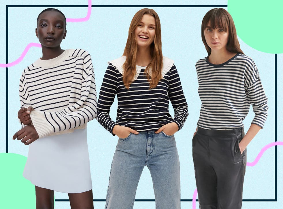 <p>The nautical trend is one that comes around again and again, bringing with it that sea breeze on the skin feeling we're all craving right now</p>